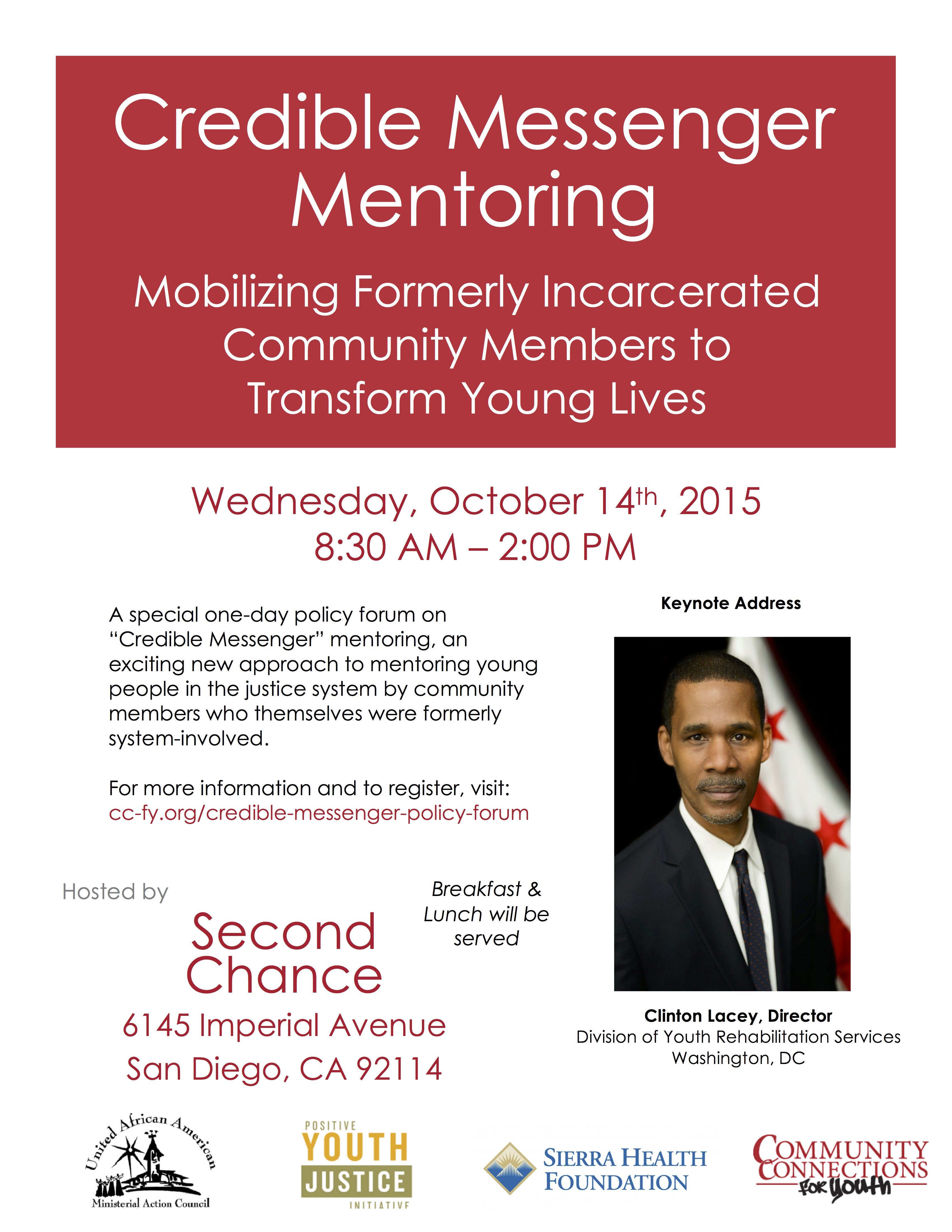 Credible Messenger Mentoring Policy Forum